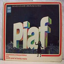 """33 tours Edith PIAF Disque Vinyle LP 12"""" B.O DU FILM PIAF - PATHE 15308 F Réduit"""