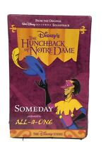 """NEW Disney """"Hunchback of Notre Dame"""" Cassette By All-4-One New Sealed"""