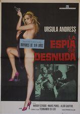 The spy she -- original film poster --