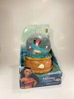 Disney Moana's Musical Water Globe Jewelry Box NIB Missing Seashell Ring