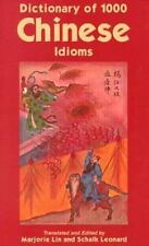 Dictionary of 1,000 Chinese Idioms-ExLibrary