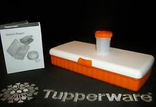 Tupperware ORANGE Lunch n Things Box ~NEW Mod Mates Adjustable Salt & Pepper