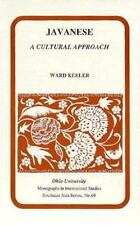 Javanese : A Cultural Approach, Paperback by Keeler, Ward, Brand New, Free sh.