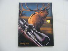 Vintage Original 2004 Nikon Optics Catalog for Rifles,Shotguns,Pistols