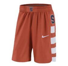 Nike Authentic On Court Syracuse Orangemen Basketball Shorts Orange Blue sz S