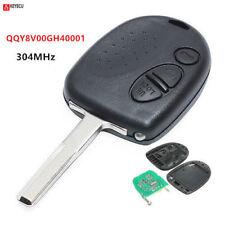 Uncut Remote Key Fob 3 Button for 2004 -2006 Pontiac GTO FCC ID:QQY8V00GH40001