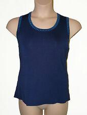 BNWT size XL ROMAN ORIGINALS NAVY BLUE CAMISOLE LADIES TOP with CONTRAST EDGE