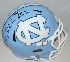 RYAN SWITZER AUTOGRAPHED NORTH CAROLINA TAR HEELS FULL SIZE SPEED HELMET JSA