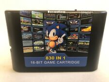 830 In 1 DIY MegaDrive & Genesis SEGA Multi Cart NTSC and PAL 16 Bit Game Card