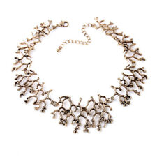 NEW Urban Anthropologie Sancia Sea Coral Tarnished Gold Necklace
