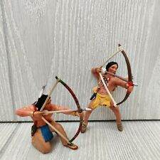 2 SCHLEICH  Native American Figures Made in Germany 2005