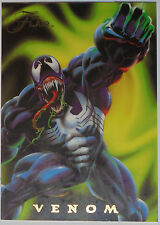 1994 Flair - Marvel Universe - Power Blast Card: #7 Venom