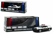 2015 Nissan GT-R (R35) Police Car 1:43 Diecast Model Car by Greenlight 51068