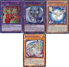 Jesse/Jaden Deck - Rainbow Dragon - Crystal Beast - Elemental Hero Neos 43 Cards