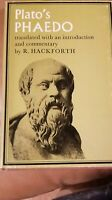 Plato's Phaedo. Translated, with an Introduction and Commentary, by R. Hackforth