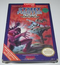 Street Fighter 2010: The Final Fight (Box Only) Nintendo NES Authentic