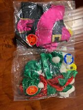Lot Build a Bear Christmas Holiday  Elf Dress Costume +elf Outfit II New
