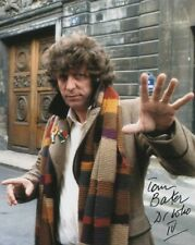 More details for doctor who autograph: tom baker (season 16 & 17) signed photo
