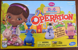 Doc McStuffins Operation Game Replacement Parts & Pieces 2013 Funatomy MB Hasbro