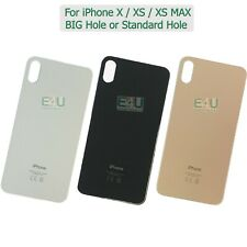 For Apple iPhone X / XS / XS MAX Back Glass Rear Glass Battery Cover Big Hole