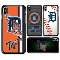 Detroit Tigers Baseball Hard Case Cover for iPhone 7 8 Plus X XR XS 11 Pro MAX