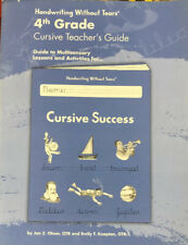Handwriting Without Tears: 4th Grade: Cursive Teacher's Guide