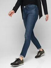 Athleta Dark Wash Sculptek Skinny Denim Jean NEW! 4 Petite 4P