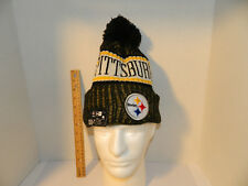 aeece82c346 Pittsburgh Steelers Knit NFL New Era Hat Winter Pom Beanie Knit Cap