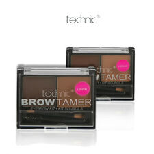 Technic Brow Tamer Eyebrow Kit Powder, Wax & Brush - Medium/Dark