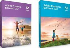 HOT New Adobe Premiere2021 + Photoshop Elements 2021 64 bit. Limited Offer!!