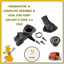 THERMOSTAT & COMPLETE HOUSING & SEAL FOR FORD GALAXY S-MAX 1.8 TDCi