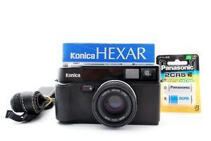 Lecture Konica Hexar Af Point & Shoot 35mm Caméra à Film Fabriqué En Japon Testé