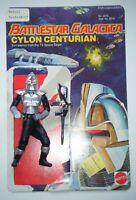 Vintage Mattel Battlestar Galactica - Cylon Centurion figure, with card back
