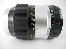 NIKON 135/3.5 NIKKOR Q PERFECT GLASS AND PERFECT BARREL COLLECTOR GRADE SMOOTH !