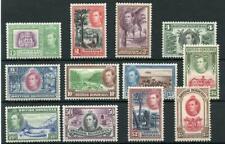 British Honduras 1938-47 set MM SG150/61 cat £200