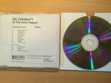 "VIC CHESNUTT-""IS THE ACTOR HAPP+BONUS""-RARE PROMO ONLY CDr ACETATE 2004-FOLK-NEW"