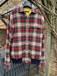 dsquared2 Wool Lumberjack Jacket