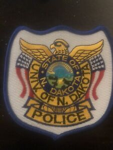 North Dakota  Police - University of North Dakota Police  ND  Police  Patch