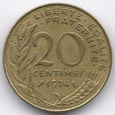 France :  20 Centimes 1974