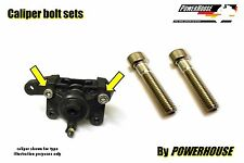 Stainless rear caliper joint bolts Suzuki GSF1200 GSF600 GSF 400 600 1200 Bandit
