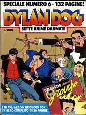 fumetto DYLAN DOG BONELLI SPECIALE numero 6 con ALBETTO