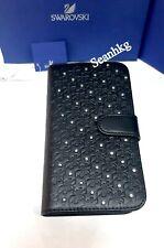 Swarovski Swanflower Black Smartphone Bookcase Samsung Galaxy S Crystal 5060421