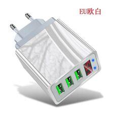 3 Puerto de carga rápida LED USB HUB Cargador De Pared Adaptador De Corriente U.S./UE Enchufe. n