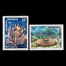 French Polynesia 1978 - Corals - Sc C162/3 MNH