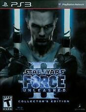 Four Sony PlayStation 3 Video Game CD lot PS3 Star Wars Force Unleashed II +