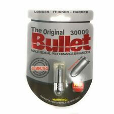 3 PACK ORIGINAL Bullet 30000 Male Enhancement - Locked & Loaded!