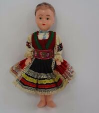 "Vintage Antique Doll 12"" Ethnic Costume"