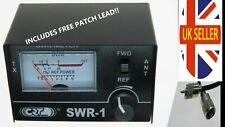 SWR Meter for CB Radio & 10m including FREE Patch Lead