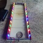 Mamod TE1a Multicoloured Mahogany Lighting Rails.. 1 PAIR ONLY, with Battery Box