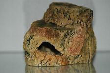 Acquario Medio Grotta Roccia Decorazione Design REALISTICO 18 x 12 x 12 Cm